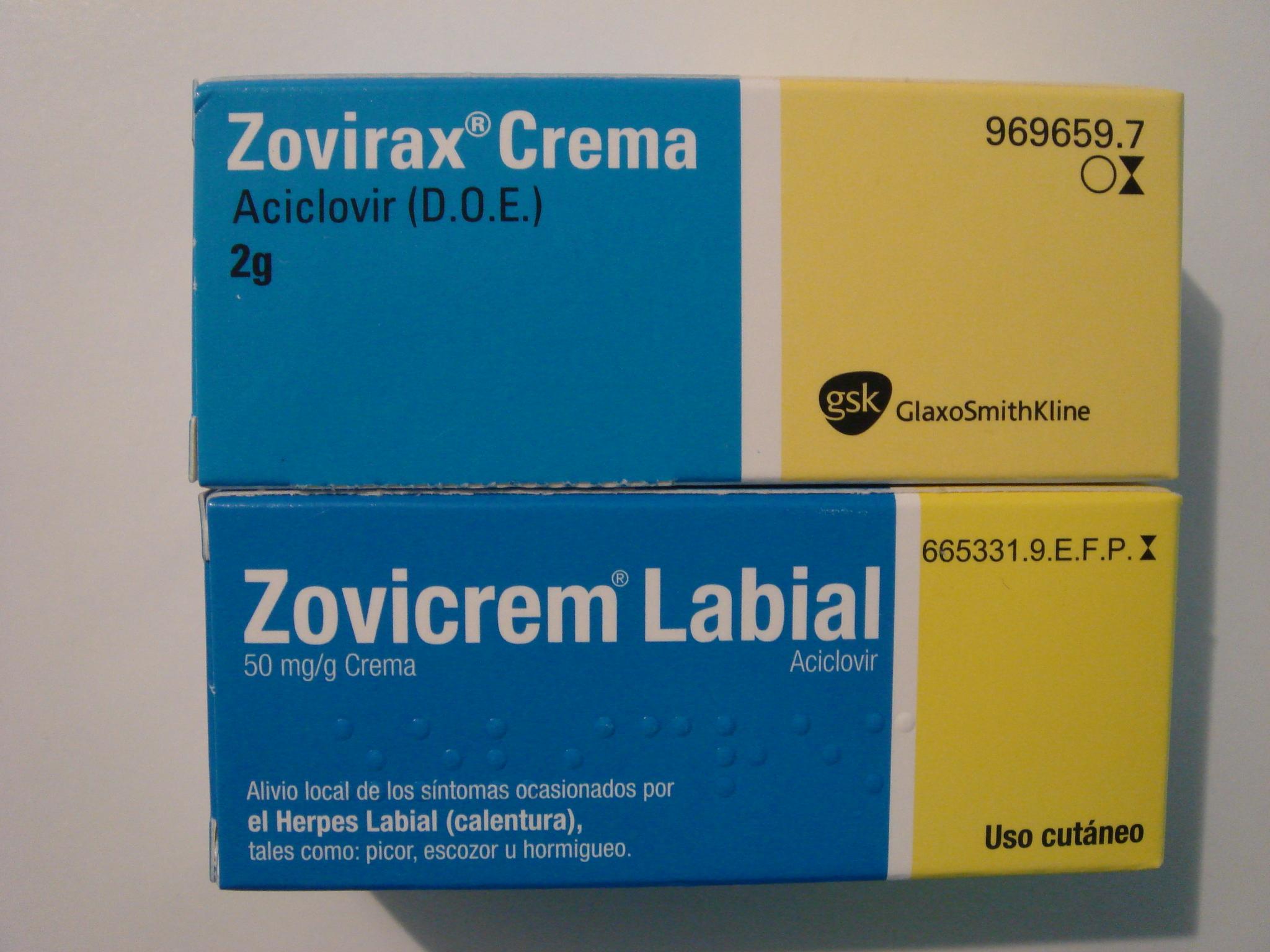 zovirax-crema-vs-zovicrem-labial | En vez del psiquiatra...