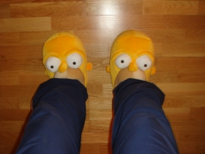 Mis pies tal como yo los veo