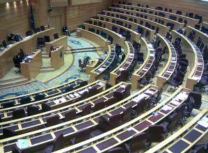 El Senado tampoco es muy visitado por Sus Señorias