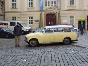 Un coupé de Praga