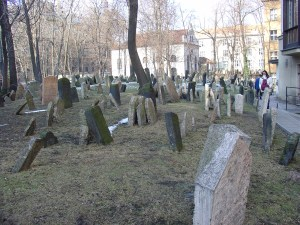 Un cementerio judio en pleno centro de Praga