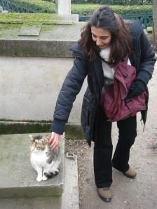 Soletegordo con la gatita (Clic para ampliar)