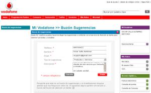 Reclamación ante Vodafone. (clic para ampliar)