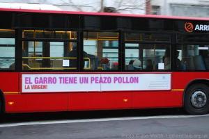Instantánea tomada en una calle de Madrid