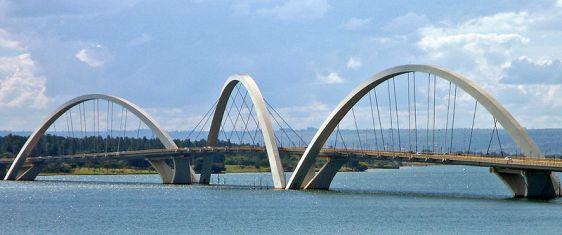Puente Juscelino Kubitschek. en Brasilia
