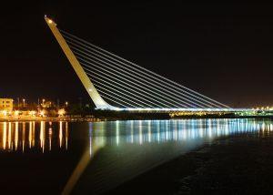 Puente del Alamillo, en Sevilla