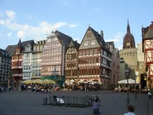 Plaza del ayuntamiento de Frankfurt