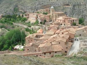 Albarracín visto desde su muralla