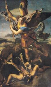 """Los arcángeles: esos señores con alas empeñados en hacer """"brochetas de diablo"""""""