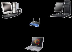 2 PCs y un portátil... casi podría ser una oficina ¿no?