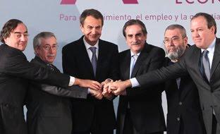 ZP y sus ministros
