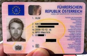Licencia Carnet Conducir